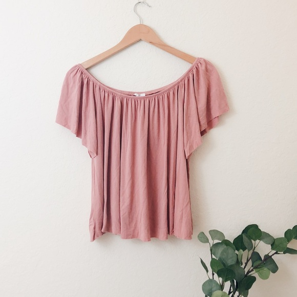 abe0f7f1103ad2 bp Tops - 🆑BP Nordstrom Off The Shoulder Top in Coral Beach